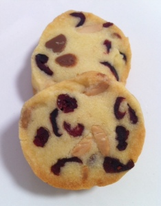 Choc Chip & Cranberry Shortbread